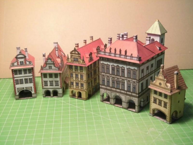 Historische Häuser aus der Prager Altstadt    ABC/Vyskovsky ca.1:280 Cimg5215