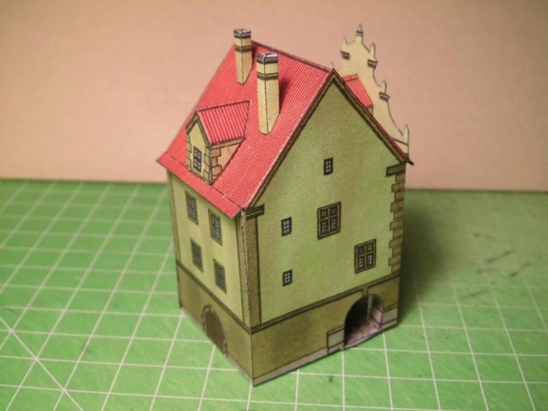 Historische Häuser aus der Prager Altstadt    ABC/Vyskovsky ca.1:280 Cimg5319