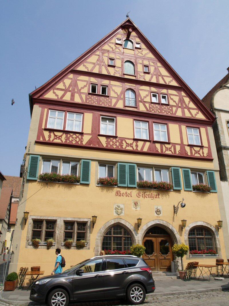 Rothenburg ob der Tauber 1:160 Schreiber Bogen P8111210
