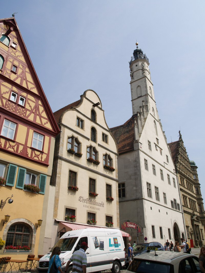 Rothenburg ob der Tauber 1:160 Schreiber Bogen P8111211