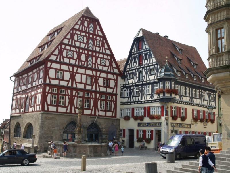 Rothenburg ob der Tauber 1:160 Schreiber Bogen P8111212