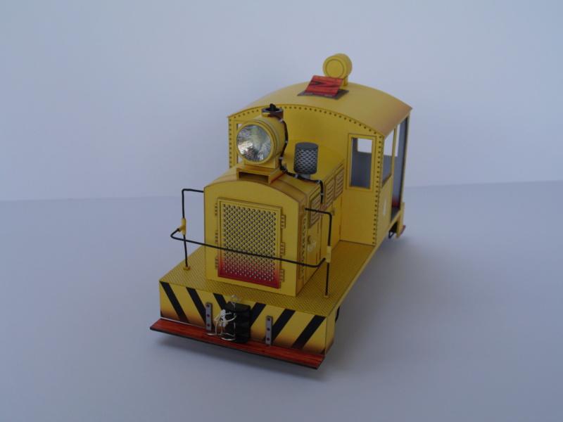Davenport Diesellok 1:25 Swiat z Kartonu P9011511