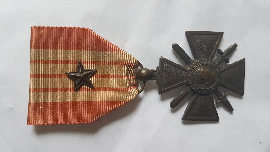 Croix de guerre 1939-1940 20180610