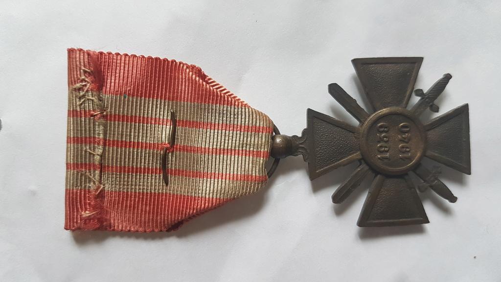 Croix de guerre 1939-1940 20180611