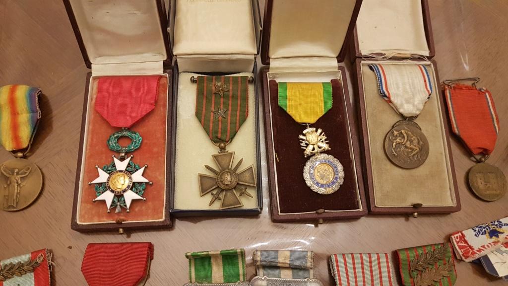 Quelques medailles 20191013