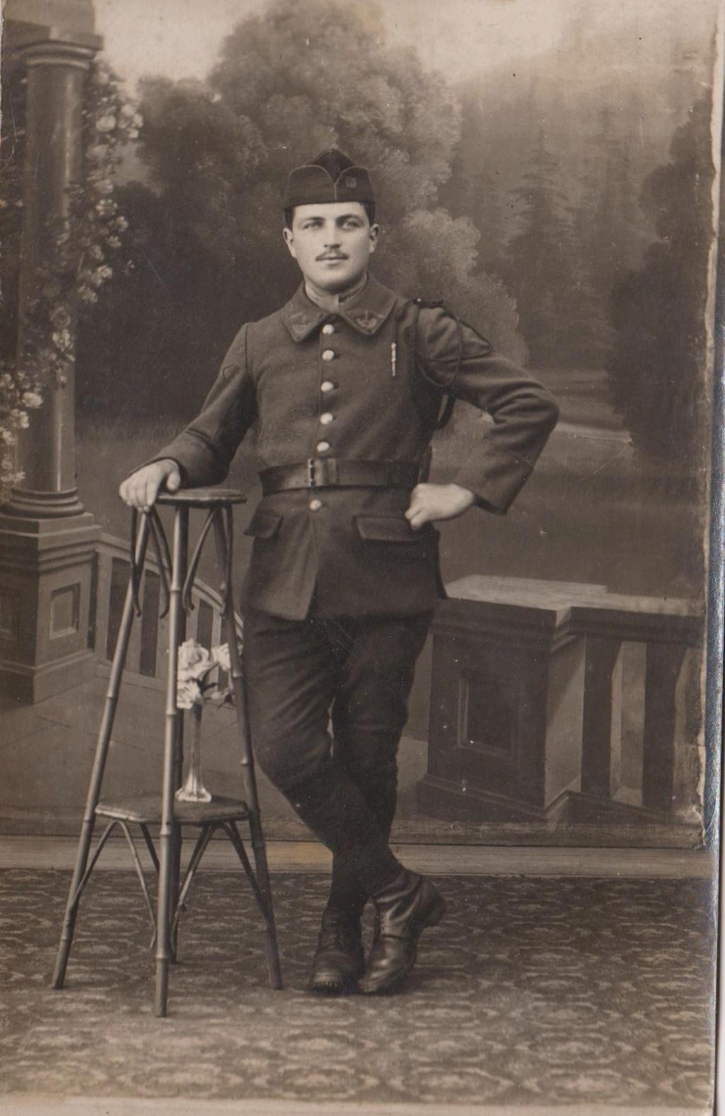 3 photos soldats debut du siecle dont 1 allemand Soldat11