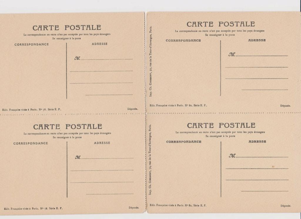 Cartes postales Française à colorier U2_00110