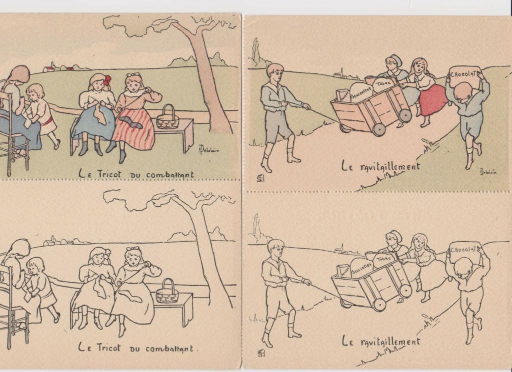 Cartes postales Française à colorier U3_00110