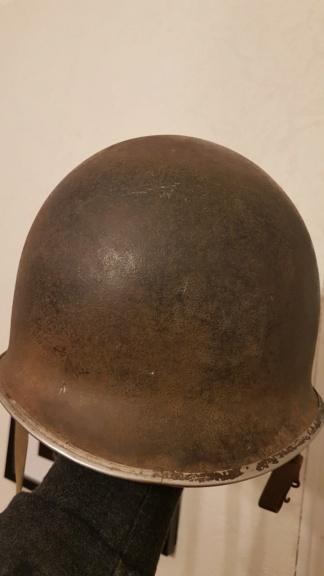 casque USM1  france WW2 ?  Za110