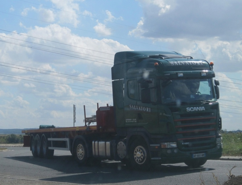 Salvatori (Calais) (62) (transporteur disparu) Scania10