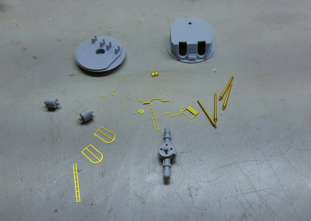 Dunkerque Hobby Boss au 1/350 + kit détaillage ShipYard. - Page 3 20180614