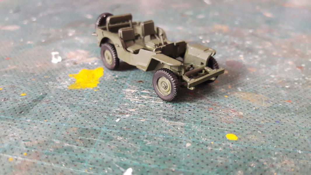Jeep US 1/72 elle est finie!!!! 810