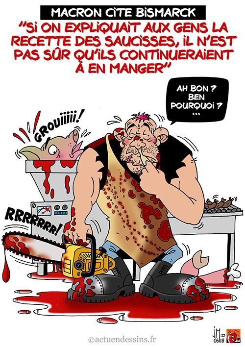 Actu en dessins de presse - Attention: Quelques minutes pour télécharger - Page 15 Macron10