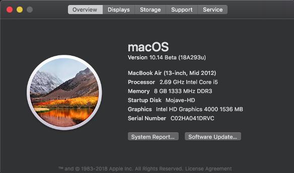 macOS Mojave 10.14 .Beta (Beta1, 2, 3, 4, 5, 6 . . .) - Page 2 Untitl11