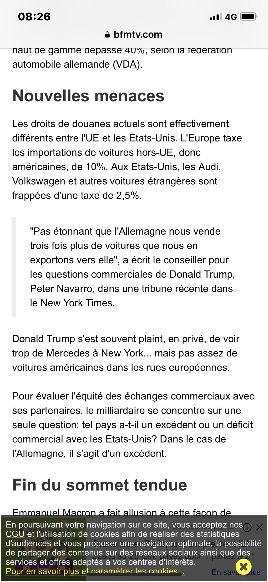 Sommet G7 trump et taxe des voiture 8a917210