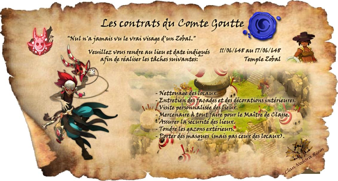 Les contrats du Comte Goutte. Zobal10