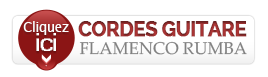 cordes de guitare flamenco rumba nylon