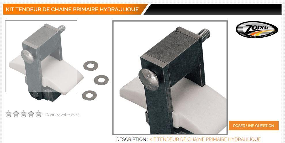 Tendeur de chaîne primaire hydraulique pour Big Twin Tendeu10