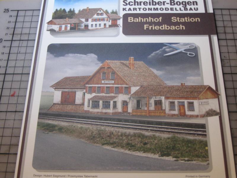 Bahnhof Friedbach in 1:87; Schreiber-Bogen; Siegmund/Tabernacki Img_5619
