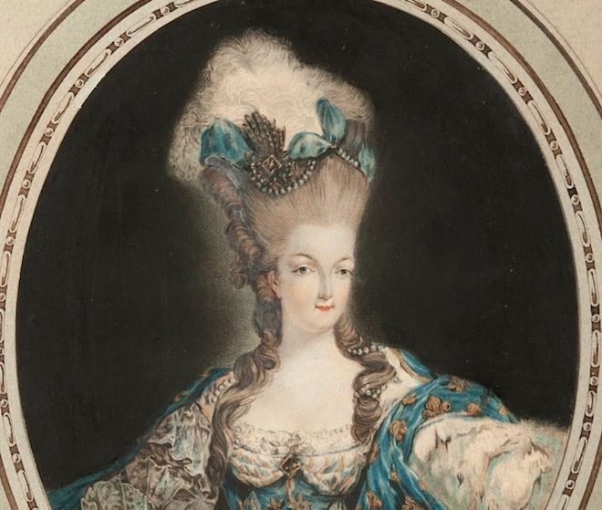 Gravures : Portraits de Marie Antoinette par Jean-François Janinet, d'après Dagoty Captur10
