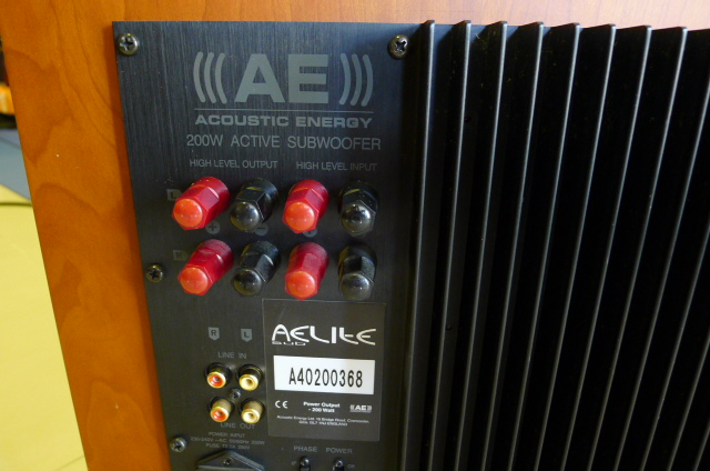 Acoustic Energy AELITE 10 Active Subwoofer (Used) SOLD P1140818