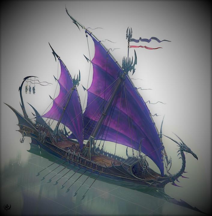 Das Dunkelelfen Korsaren Schiff / RC, 1:25 Teil 2 - Seite 5 01_1910