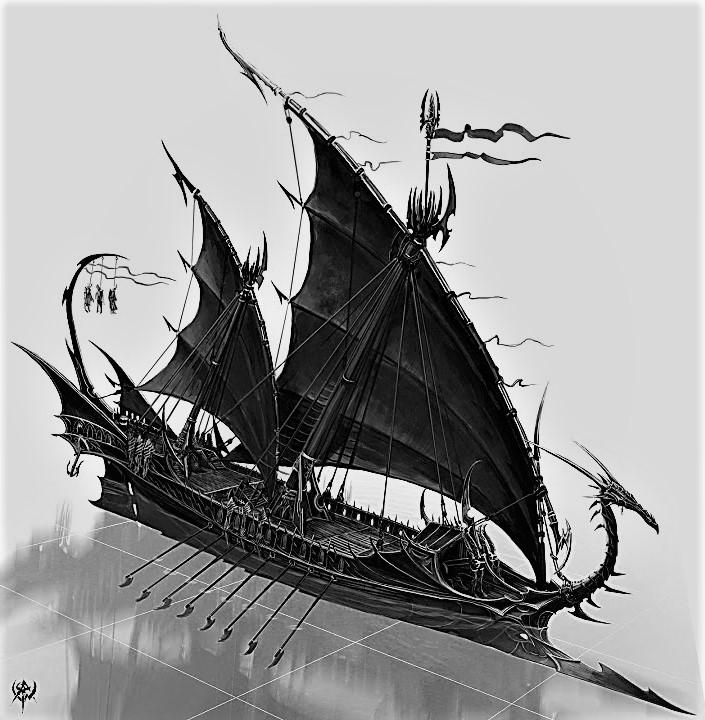 Das Dunkelelfen Korsaren Schiff / RC, 1:25 - Seite 27 82354810
