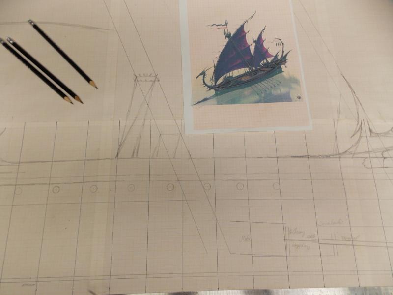 Das Dunkelelfen Korsaren Schiff   1:25 RC MODELL - Seite 3 Dscn0410