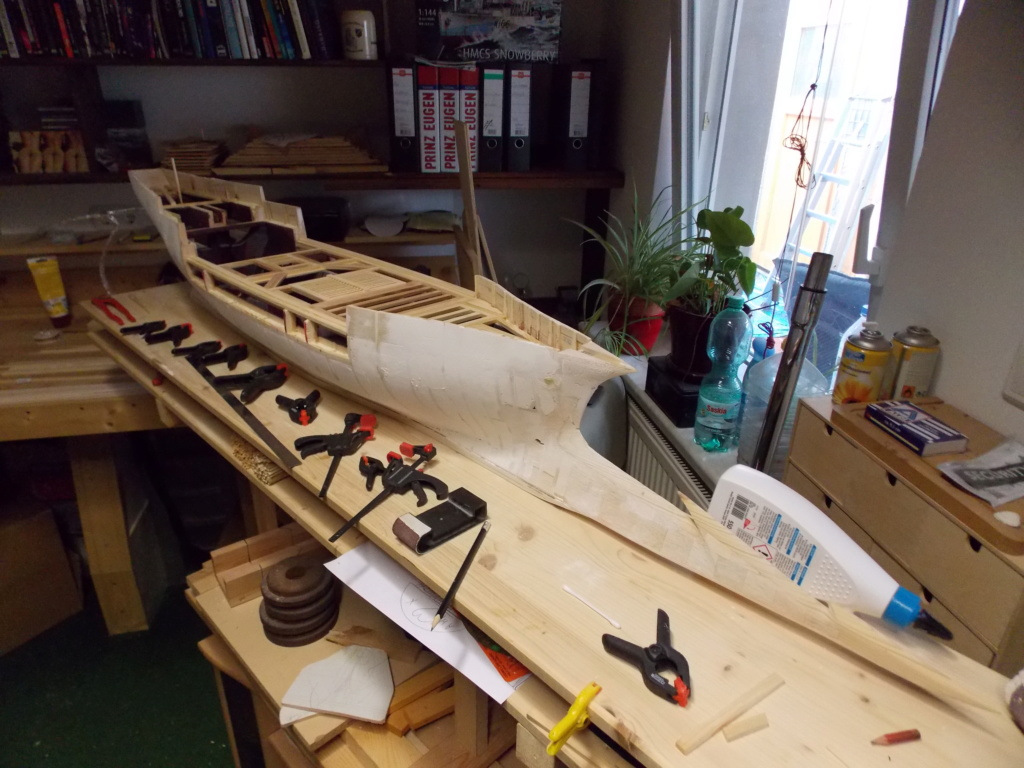 Das Dunkelelfen Korsaren Schiff   1:25 RC MODELL - Seite 23 Dscn1423