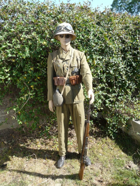 Soldat Afrikakorps devant El Alamein  174