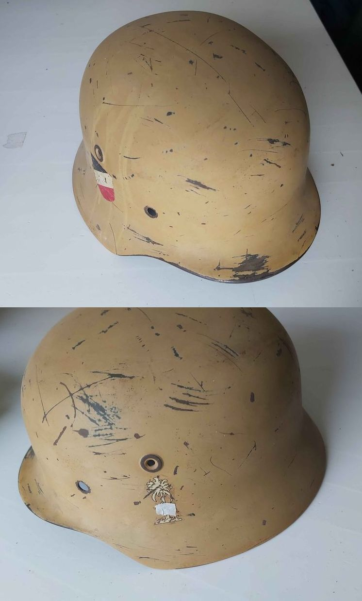 M40 Afrikakorps? authentification - estimation Casque23