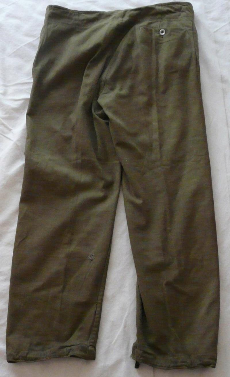 Pantalon droit AK troupe daté 1941 Dos39