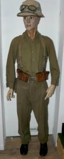 Pantalon droit AK troupe daté 1941 Manneq39