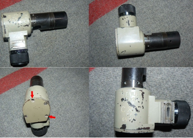 Optique de Périscope de bunker Allemand Perisc12