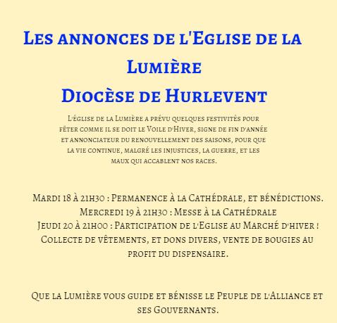 Annonces de l'Eglise de la Lumière Annonc12