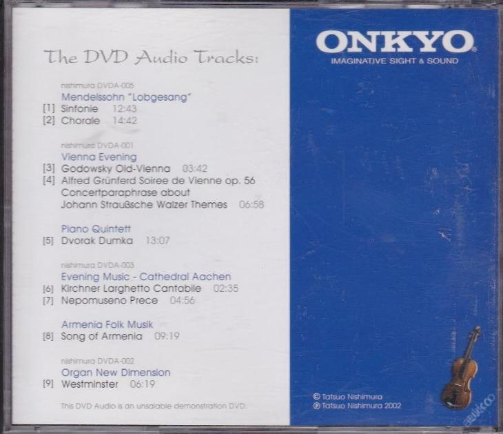 An Experience in DVD Audio Vol.1 Onkyo_10