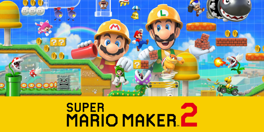 Super Mario Maker 2 ( Switch) + SONDAGE H2x1_n10