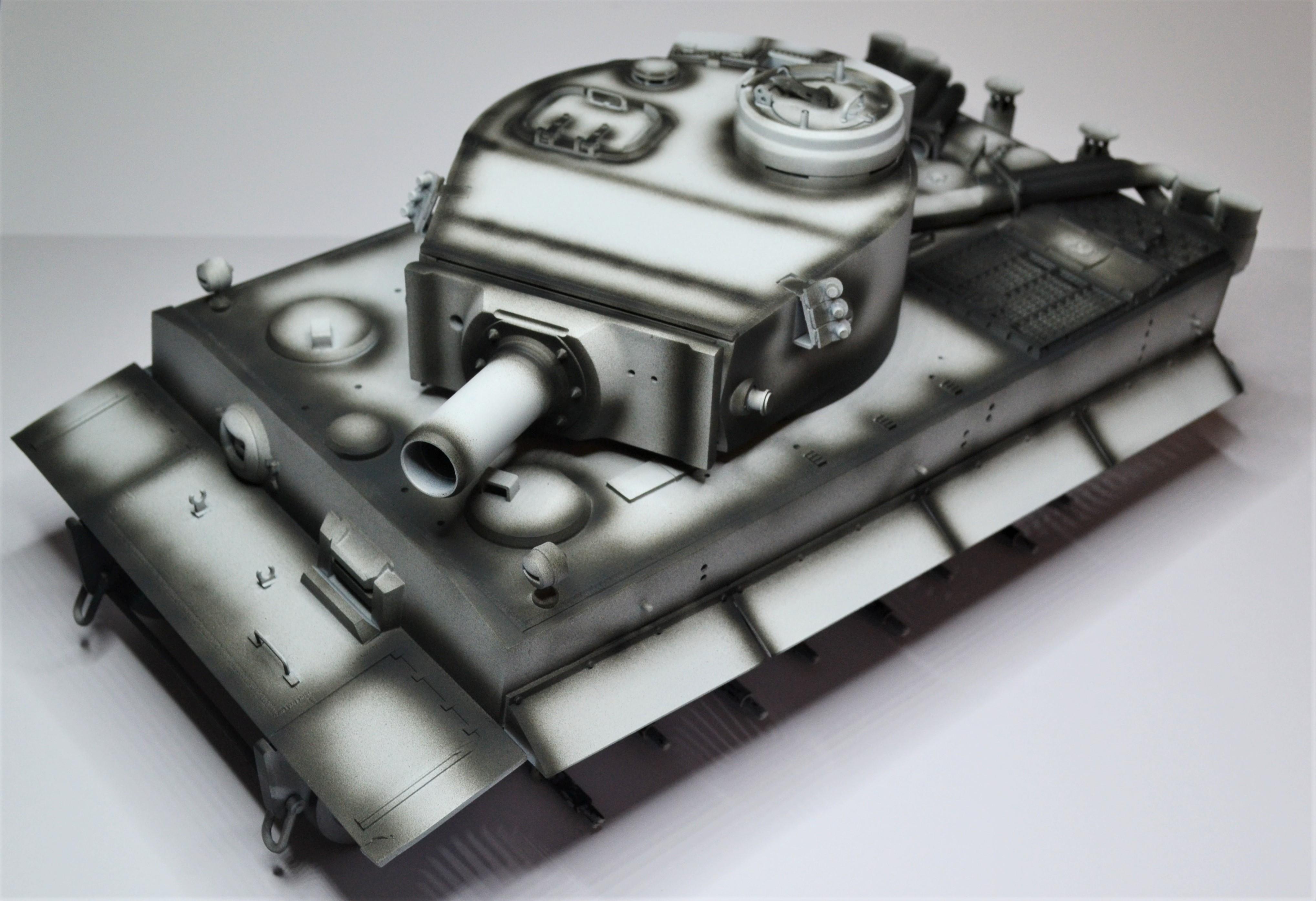 tiger - Tiger 1 early production Tamiya 1/25  Trterr10