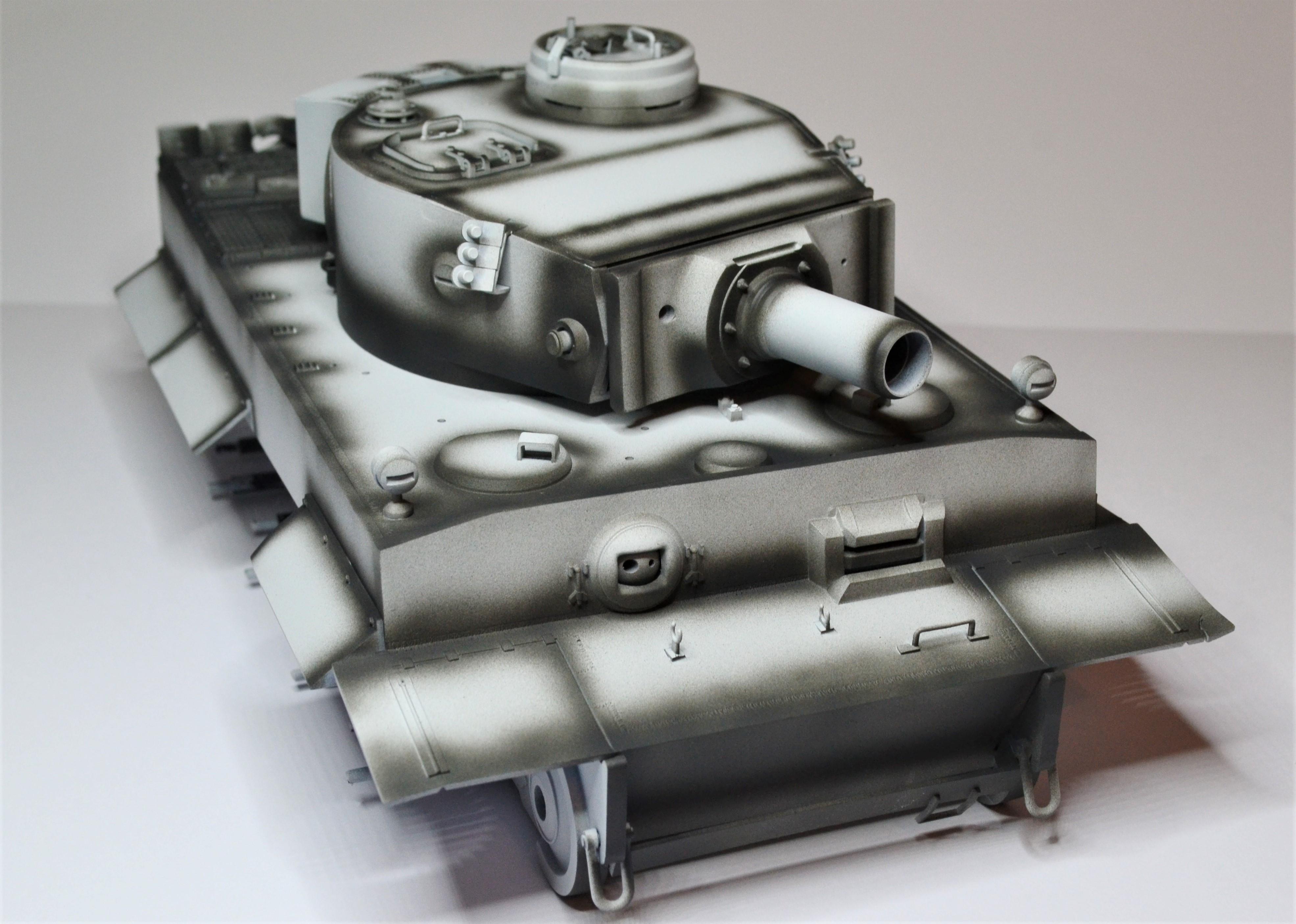 tiger - Tiger 1 early production Tamiya 1/25  Vbcbb10