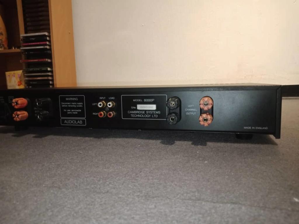 Audiolab 8000p power amp Img-2083