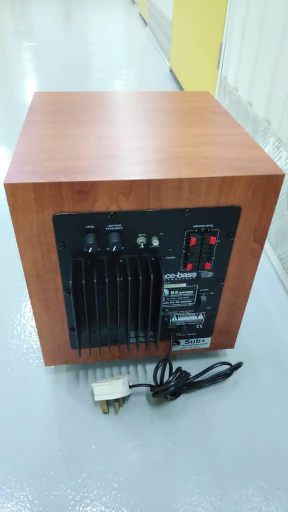 Audio pro sub+ subwoofer  Img-2104
