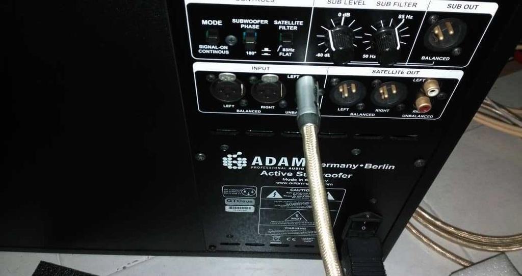 "Adam gtc sub (12"" subwoofer) Whatsa17"