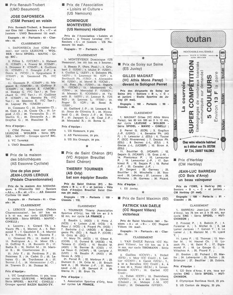 Annonce: Coureurs et Clubs de juin 1979 à juin 1981 - Page 38 01110