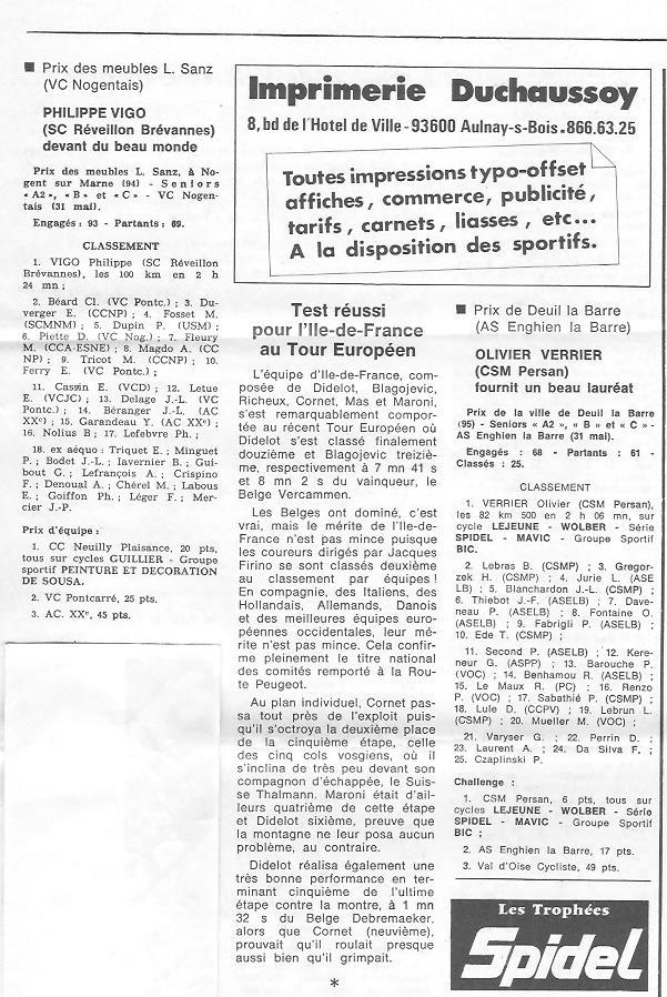 Annonce: Coureurs et Clubs de juin 1979 à juin 1981 - Page 38 01610