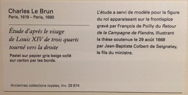 Exposition Pastels des XVII et XVIIIe siècles Louvre 2018 Captur20