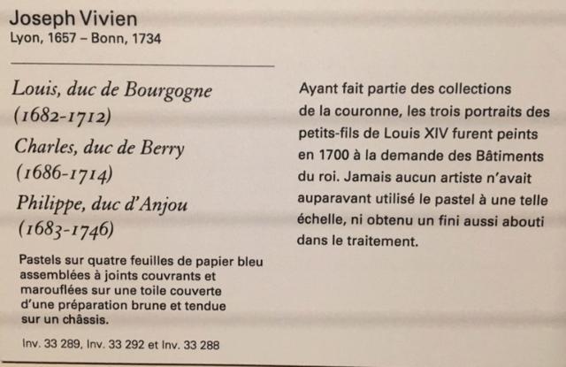 Exposition Pastels des XVII et XVIIIe siècles Louvre 2018 Captur21