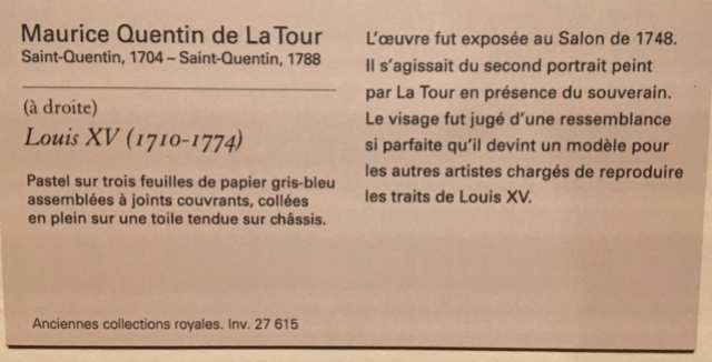 Exposition Pastels des XVII et XVIIIe siècles Louvre 2018 Captur27