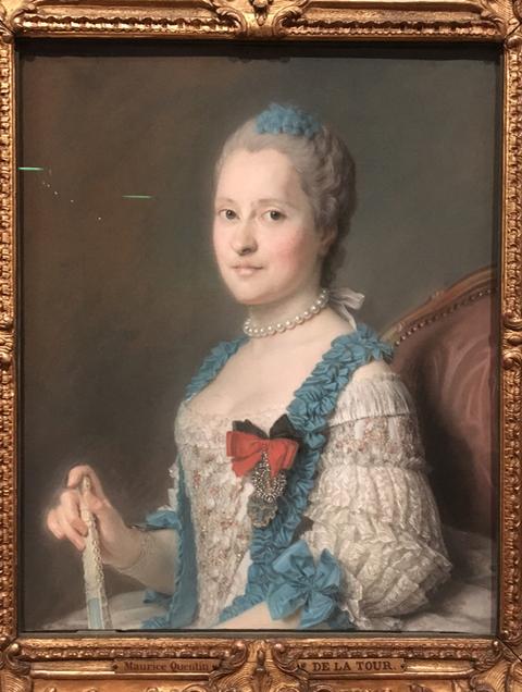 Exposition Pastels des XVII et XVIIIe siècles Louvre 2018 Captur29