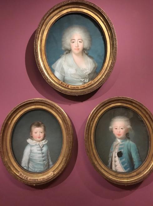 Exposition Pastels des XVII et XVIIIe siècles Louvre 2018 Captur31