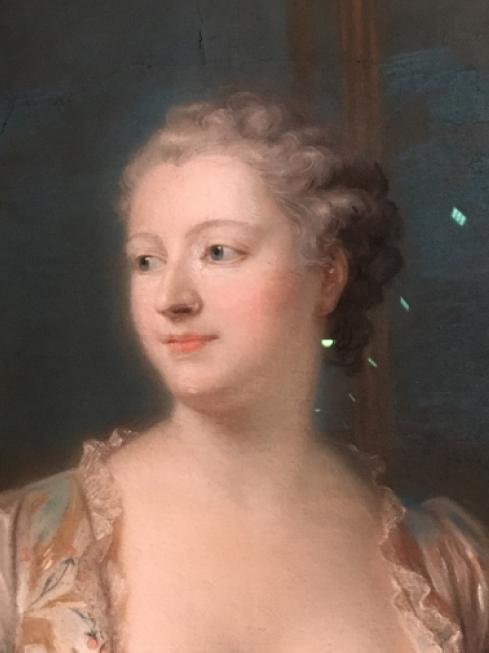 Exposition Pastels des XVII et XVIIIe siècles Louvre 2018 Captur32
